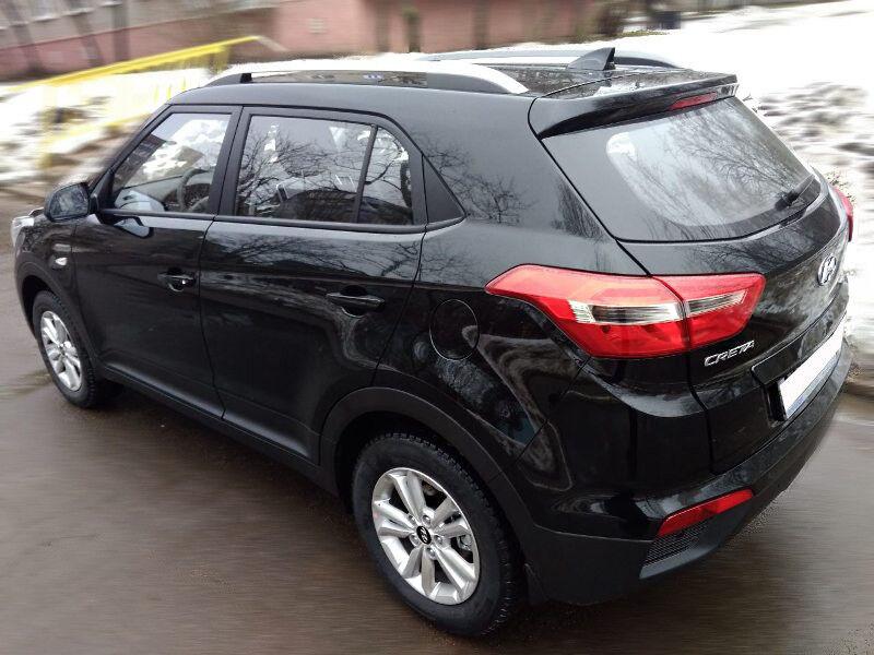 Прокат авто Hyundai Creta (2018 г.в, чёрный) - фото 4