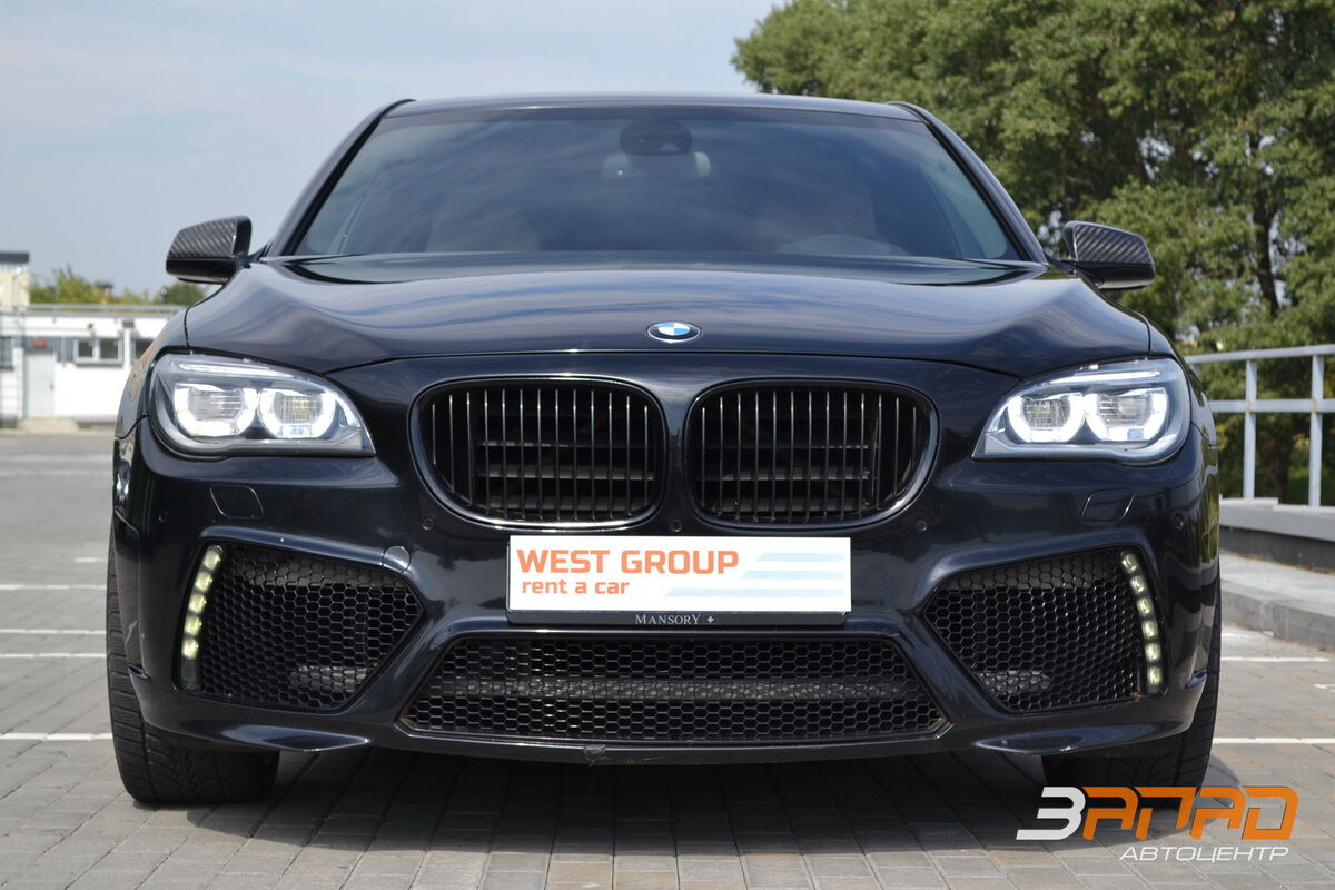 Аренда авто BMW 7/ F01 Mansory 2012 Черный - фото 2