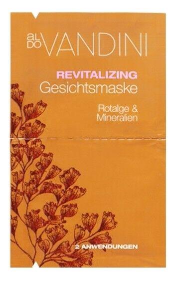 Уход за лицом Aldo Vandini Оздоравливающая маска для лица «Красные водоросли и Минералы» Revitalizing Face Mask Red Algae & Minerals - фото 1
