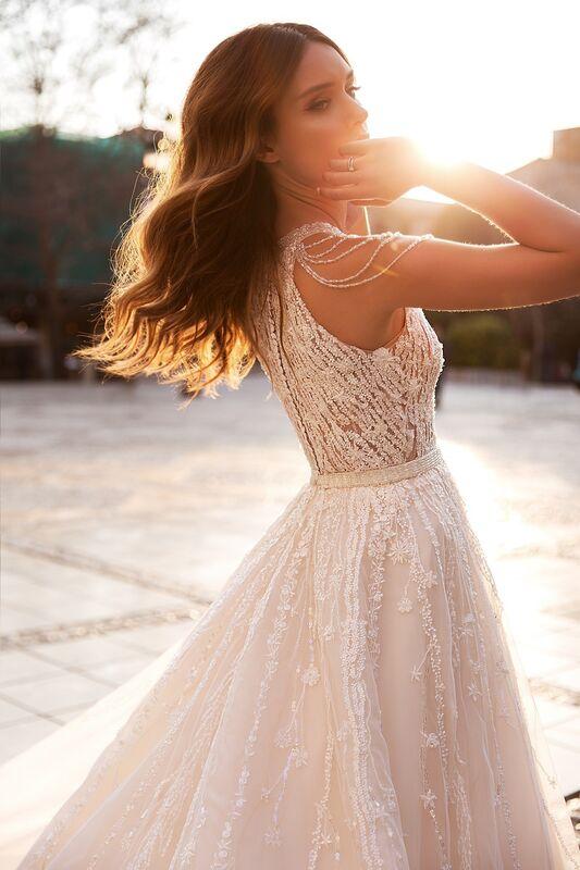 """Свадебное платье напрокат ALIZA свадебное платье """"Jufemmy"""" - фото 4"""