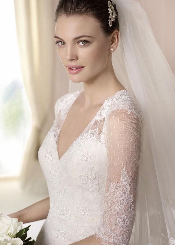 Свадебное платье напрокат White One (Pronovias) Платье свадебное «Dalit» - фото 3