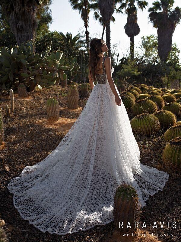 Свадебное платье напрокат Rara Avis Свадебное платье Wild Soul Aviv - фото 5