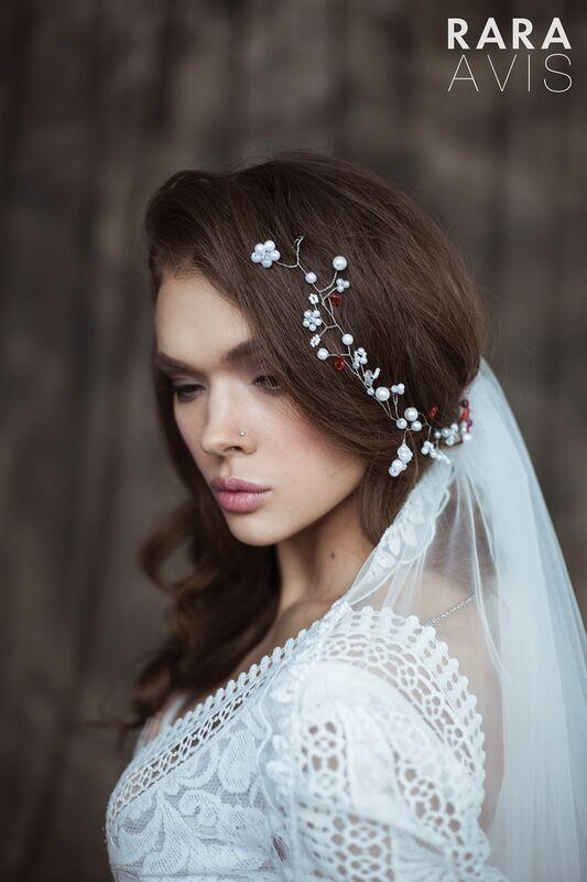 Свадебный аксессуар Rara Avis Украшение для волос №8 - фото 2