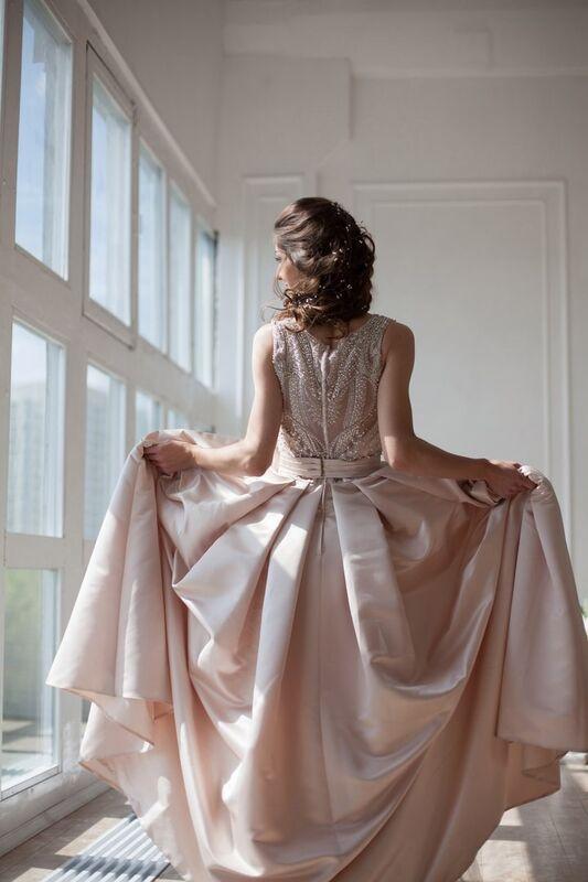 Свадебное платье напрокат La Festa Вечернее платье 115-3 - фото 5