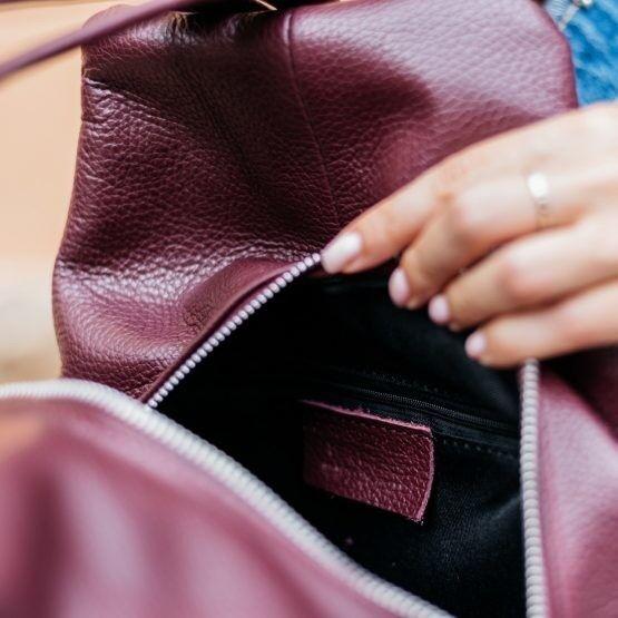 Магазин сумок Vezze Кожаный женский рюкзак C00527 - фото 2
