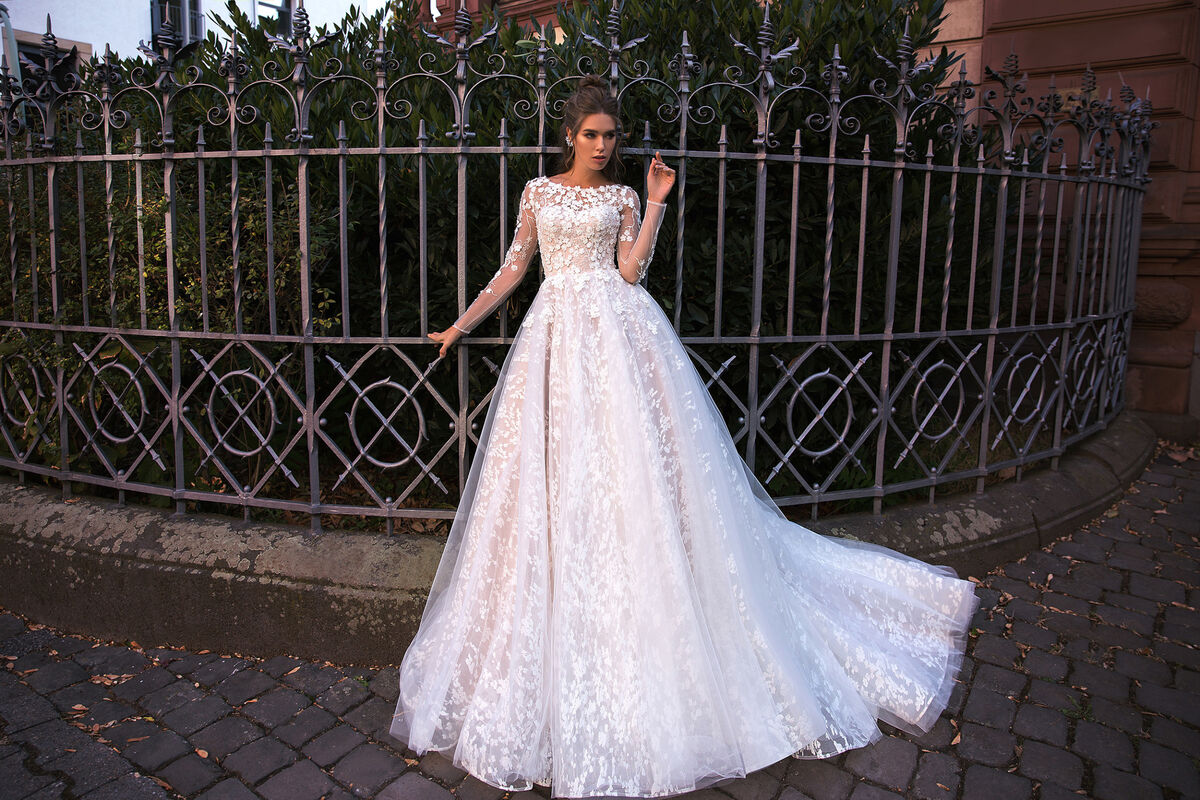 Свадебное платье напрокат Vanilla room Платье свадебное Ева - фото 4