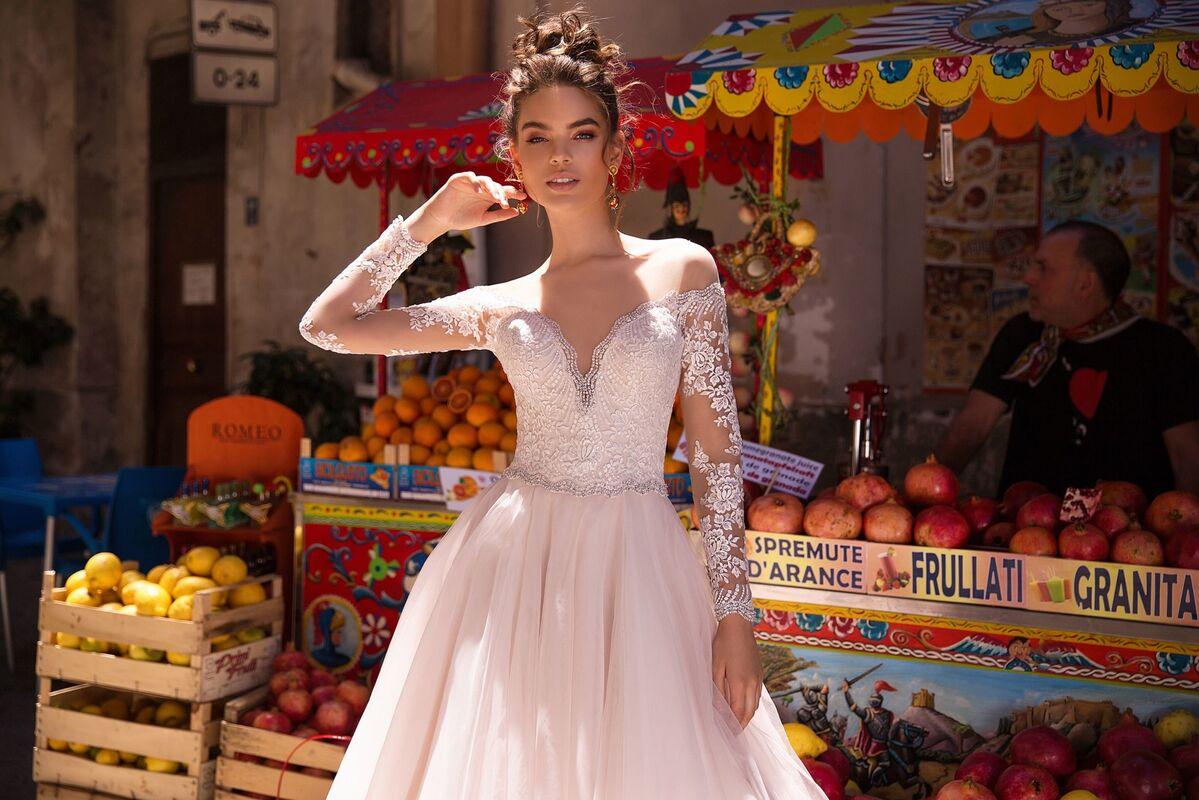 Свадебный салон Lussano Bridal Свадебное платье  Bonita 19037 - фото 2