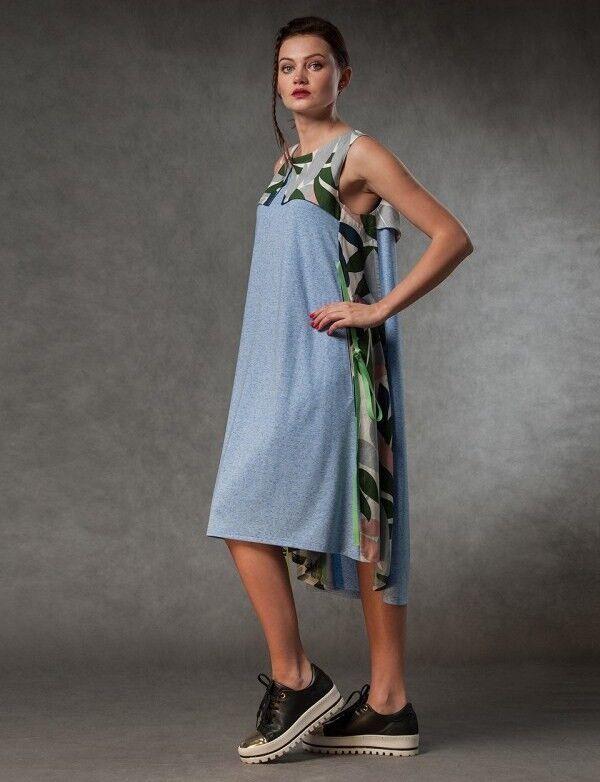 Платье женское MISUTERI Платье Tekina Blue SS0151 - фото 1