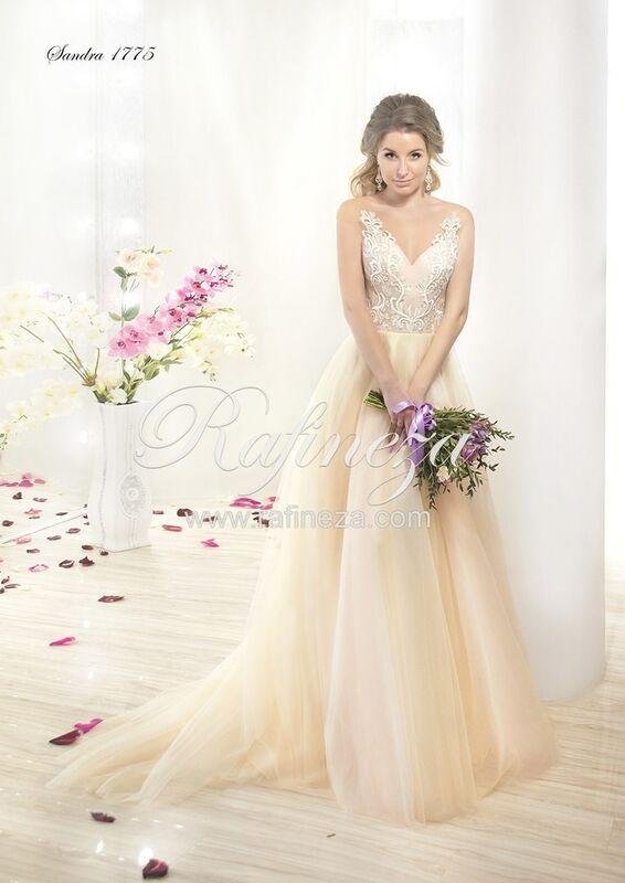 Свадебное платье напрокат Rafineza Платье свадебное Sandra - фото 1