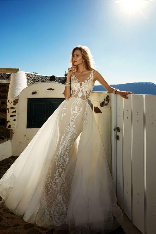 Свадебное платье напрокат Eva Lendel Платье свадебное Tailor - фото 1