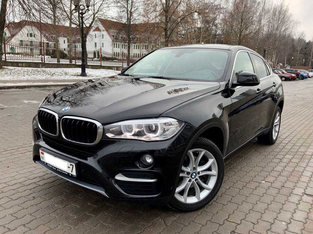 Прокат авто BMW X6 2016 г.в. - фото 2