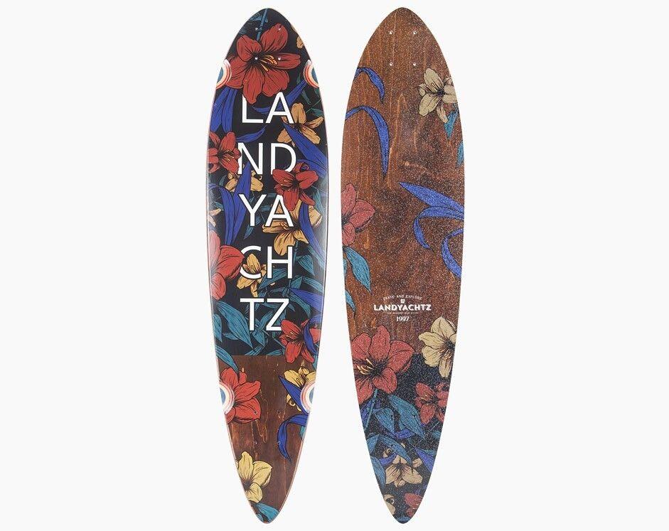 Скейтборд Landyachtz Лонгборд Maple Chief Floral - фото 5