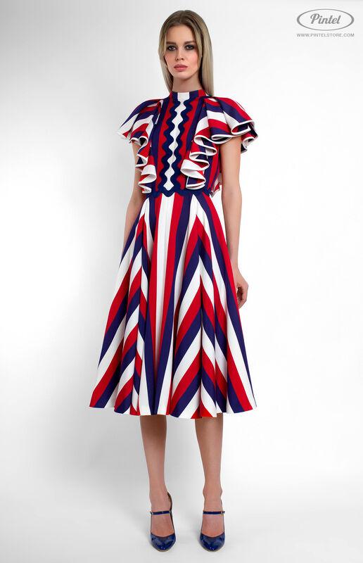Платье женское Pintel™ Приталенное платье Micheline - фото 2