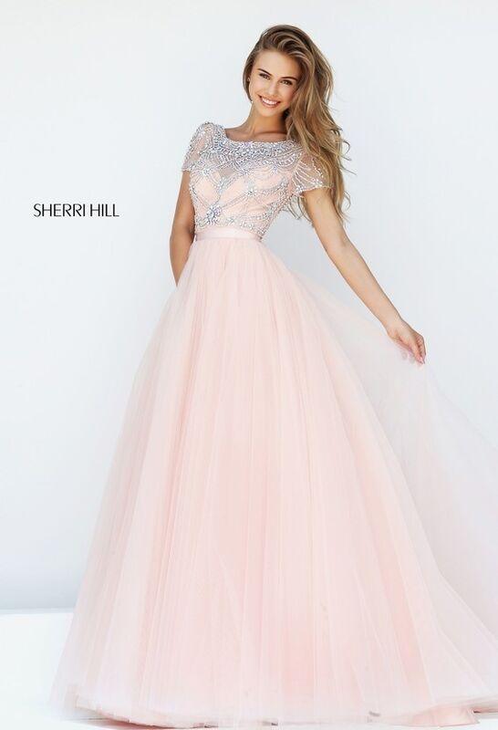 Свадебное платье напрокат Sherri Hill Платье свадебное 50710 - фото 2