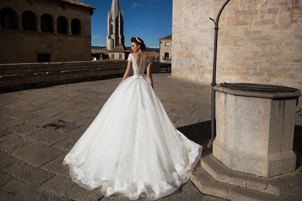 Свадебное платье напрокат Bonjour Платье свадебное «Dayona» из коллекции LA SENSUALITE 2017 - фото 4