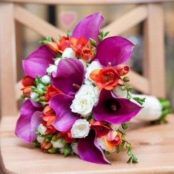 Магазин цветов Ветка сакуры Свадебный букет № 78 - фото 1