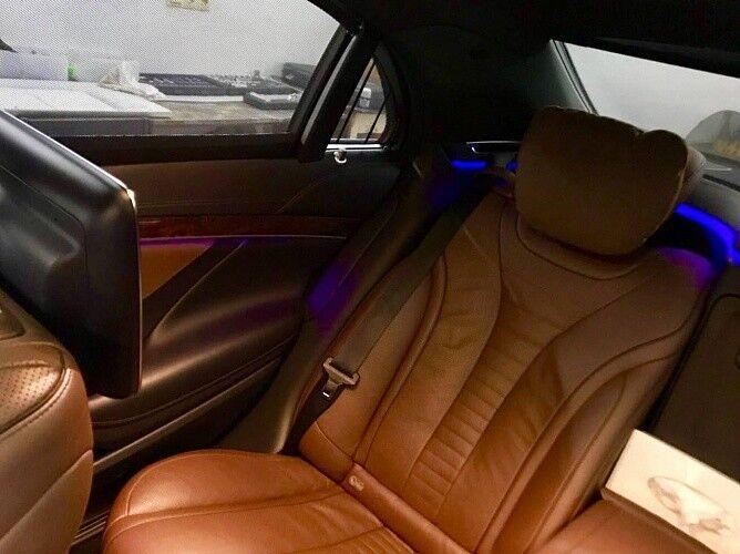 Прокат авто Mercedes-Benz W222 S-class черного цвета - фото 10