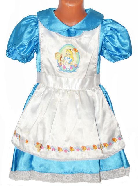 Карнавальный костюм Disney Платье карнавальное «Алиса в Стране Чудес» - фото 1