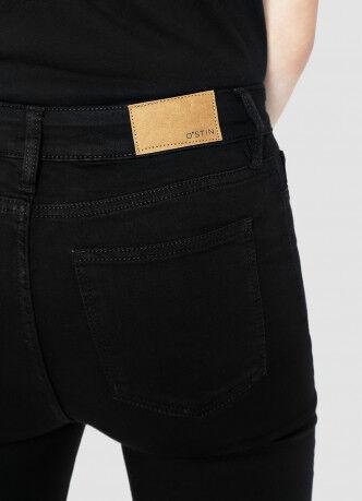 Брюки женские O'STIN Базовые суперузкие джинсы с высокой посадкой LPD108-99 - фото 3