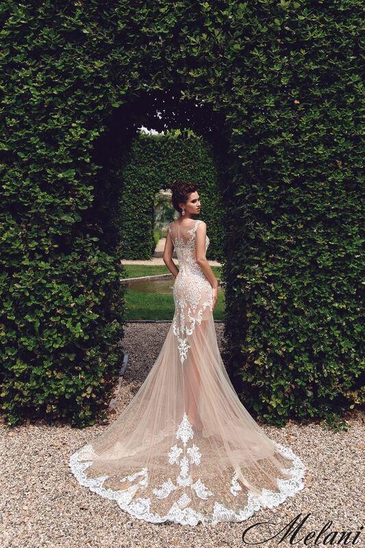 Свадебный салон Bonjour Galerie Свадебное платье Melani из коллекции Royal Luxury - фото 1