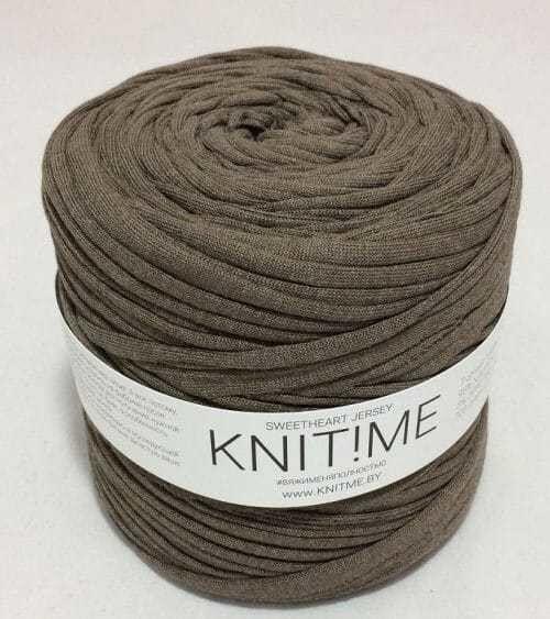 Товар для рукоделия Knit!Me Ленточная пряжа Sweetheart Jersey - Засахаренный имбирь (SJ133) - фото 1