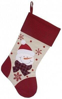 Подарок на Новый год Eurotrading Носок для подарков, 42 см, полиэстер - фото 1