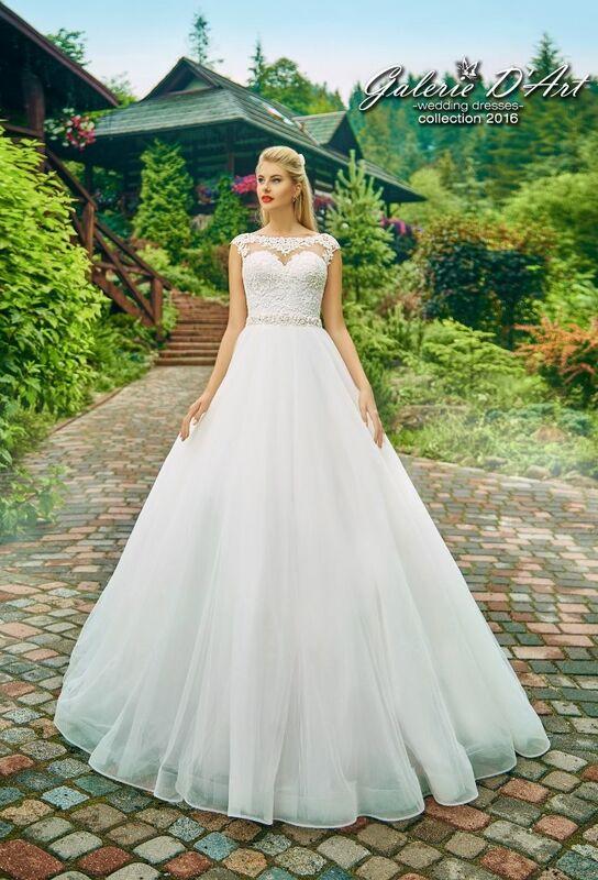 Свадебное платье напрокат Galerie d'Art Платье свадебное «Ирис» из коллекции BESTSELLERS - фото 1