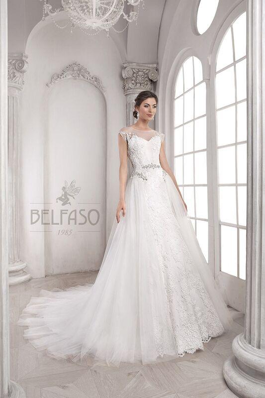 Свадебное платье напрокат Belfaso Платье свадебное Doroti - фото 1