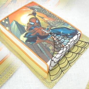 Торт Студия Людмилы Мостаковой Торт «Человек-паук» - фото 1