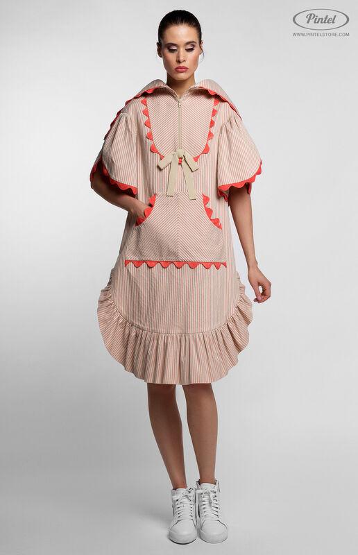 Платье женское Pintel™ Спортивное платье свободного силуэта FONG - фото 3