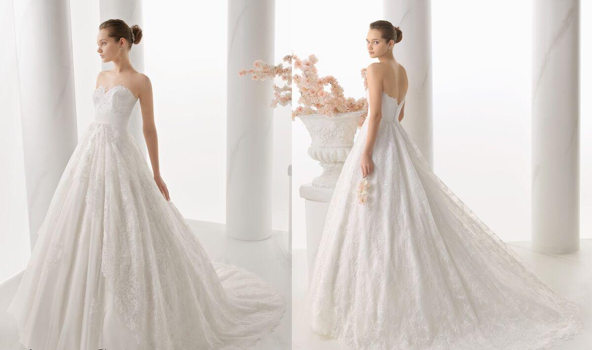 Свадебное платье напрокат Rosa Clara Платье свадебное Noche - фото 2