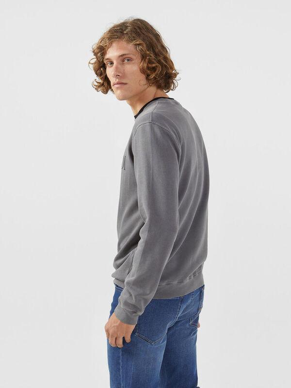 Кофта, рубашка, футболка мужская Trussardi Толстовка мужская 52F00087-1T002268 - фото 2