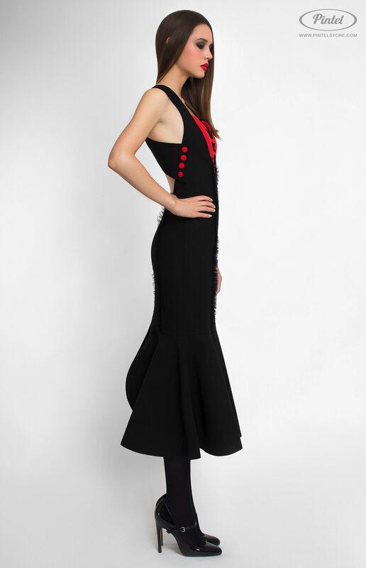 Платье женское Pintel™ Облегающее платье-футляр Sujina - фото 3