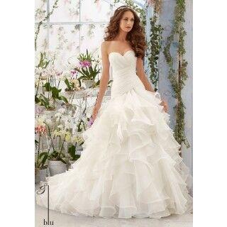 Свадебное платье напрокат Mori Lee Платье свадебное 5412 - фото 1