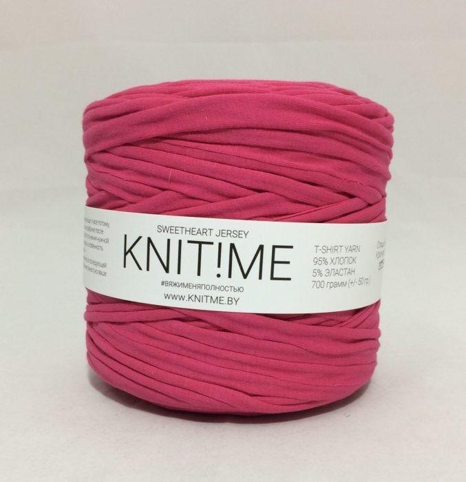 Товар для рукоделия Knit!Me Ленточная пряжа Sweetheart Jersey - SJ450 - фото 1