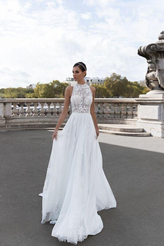 """Свадебное платье напрокат ALIZA свадебное платье """"Olgey"""" - фото 6"""