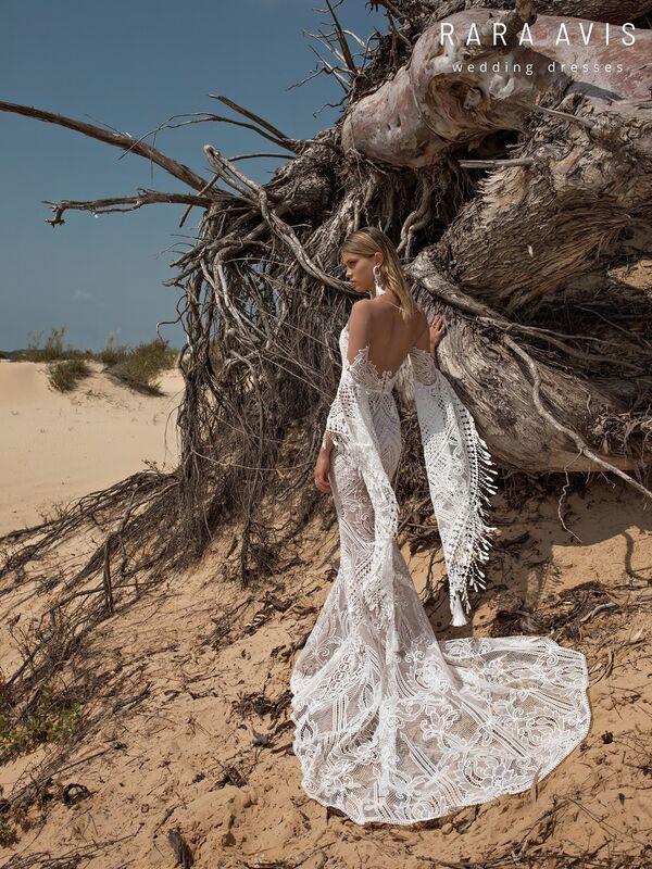 Свадебное платье напрокат Rara Avis Свадебное платье Wild Soul Lari - фото 1