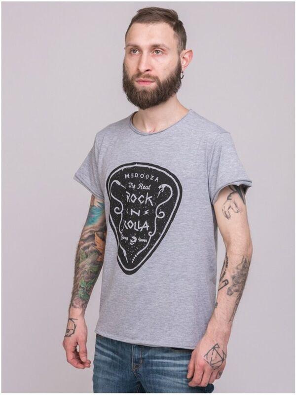 Кофта, рубашка, футболка мужская Medooza Футболка «Rock'n'Rolla» SKU0082000 - фото 2