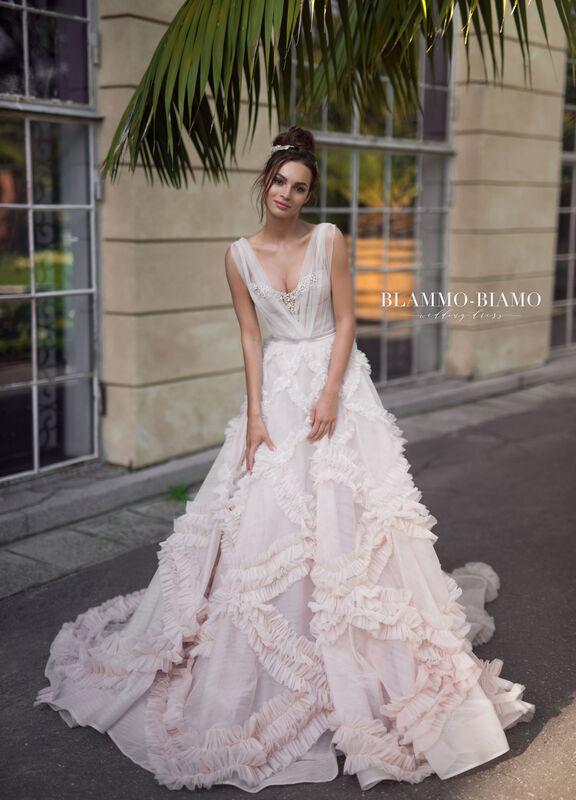 Свадебное платье напрокат Blammo-Biamo Платье свадебное The Rice  Noel - фото 1