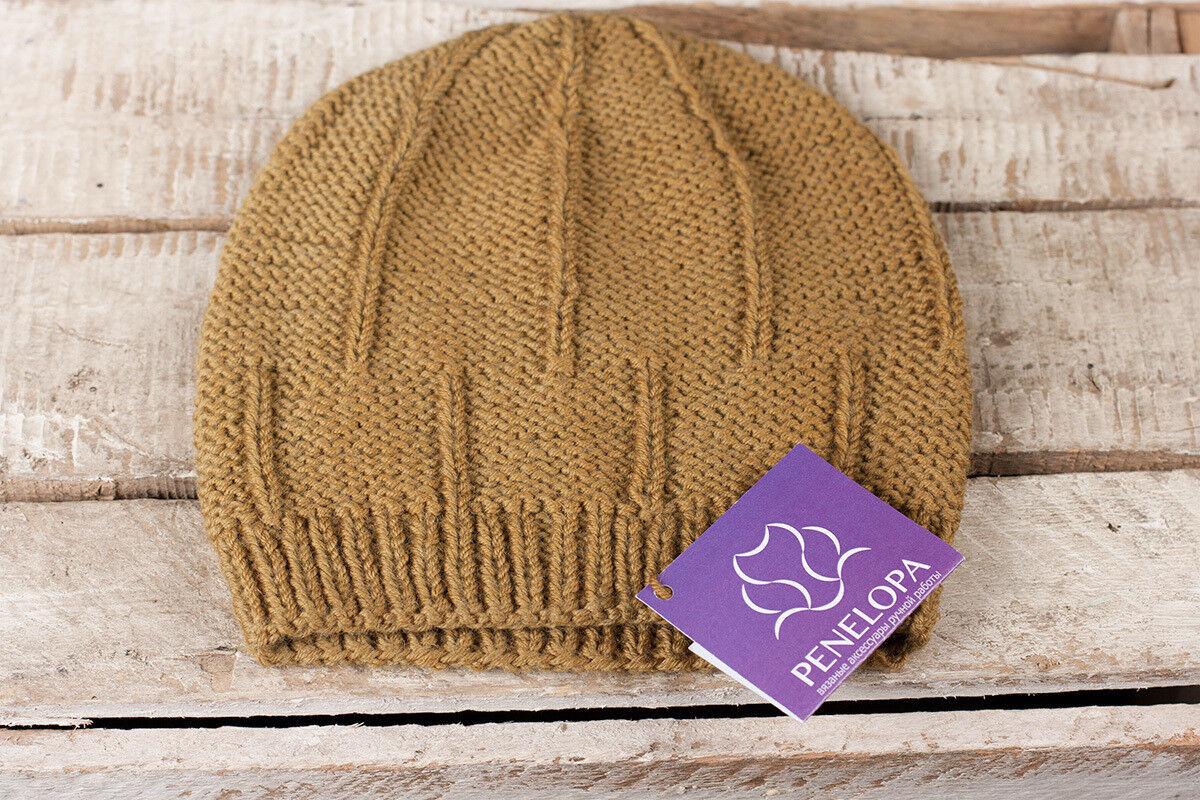 Головной убор PENELOPA Горчичная шапка M107 - фото 2