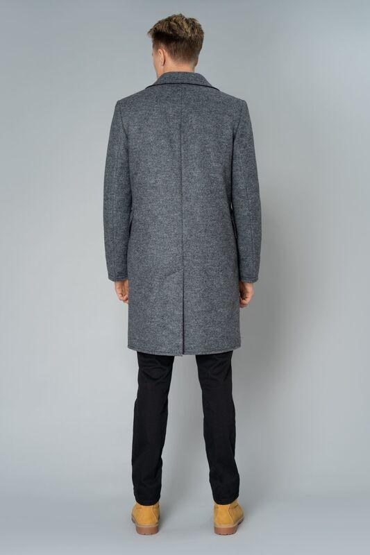 Верхняя одежда мужская Etelier Пальто мужское утепленное 6М-9103-1 - фото 4