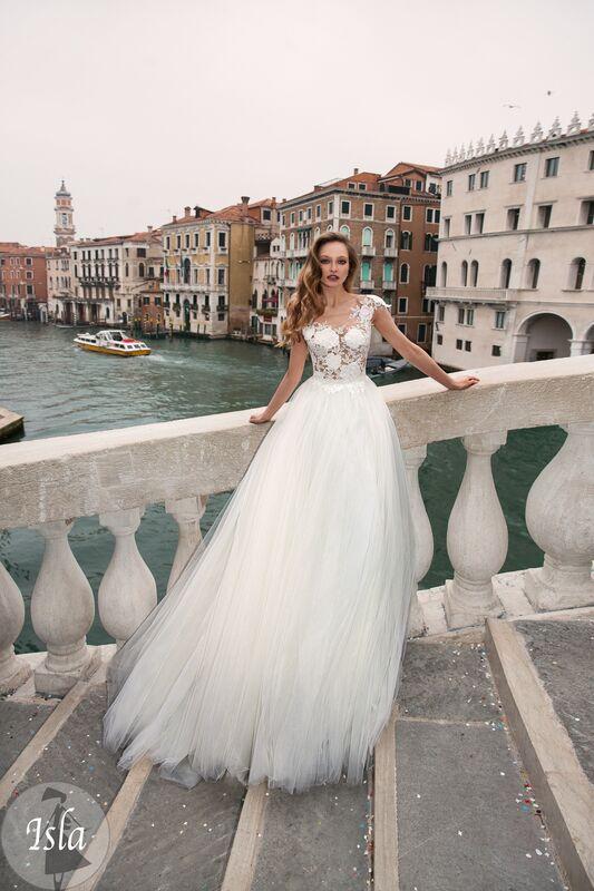 Свадебное платье напрокат Bonjour Платье свадебное «Isla» из коллекции LE DELICE 2018 - фото 1