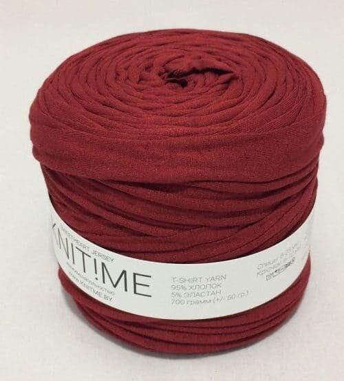 Товар для рукоделия Knit!Me Ленточная пряжа Sweetheart Jersey - Красная глина (SJ138) - фото 1