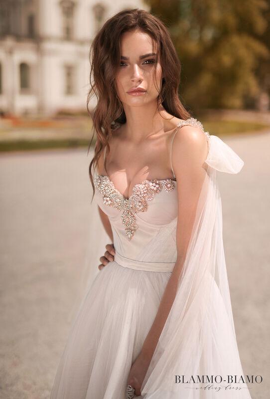 Свадебное платье напрокат Blammo-Biamo Платье свадебное The Rice Nora - фото 2