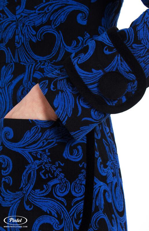 Костюм женский Pintel™ Жаккардовый брючный костюм Astéric - фото 5