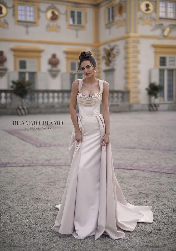 Свадебное платье напрокат Blammo-Biamo Платье свадебное The Rice Lolis - фото 1