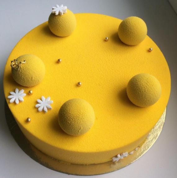 Торт Brioche Paris Торт №56 Манго-маракуйя - фото 1