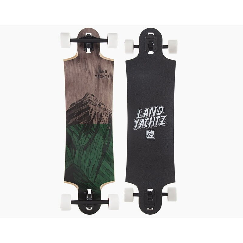 Скейтборд Landyachtz Лонгборд Switchblade 36 Mountains Green - фото 1