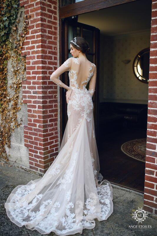 Свадебный салон Ange Etoiles Свадебное платье AEriality Collection  Alma - фото 2