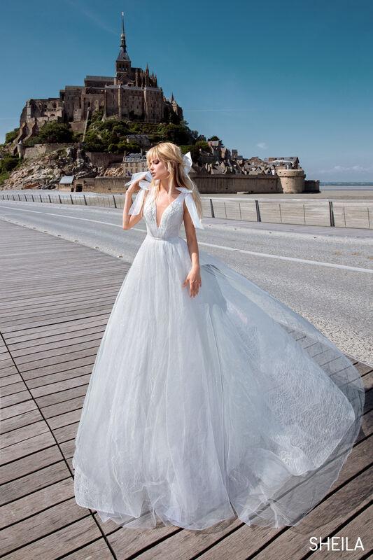 Свадебный салон Bonjour Galerie Платье свадебное SHEILA из коллекции BON VOYAGE - фото 3